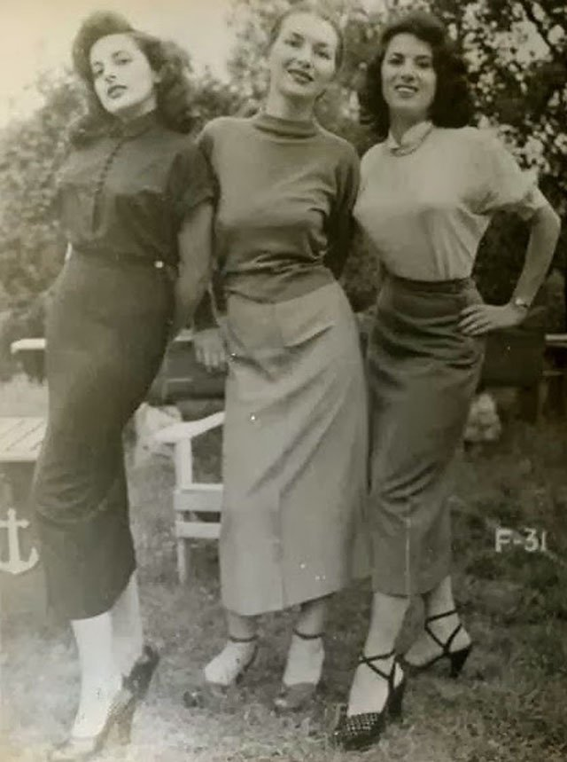 пули-сиськи винтажные фото bullet bra мода 50-х отвратительные мужики disgusting men