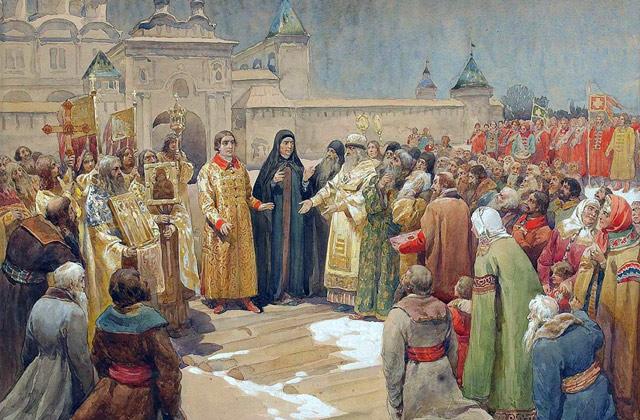 Начало правления династии Романовых