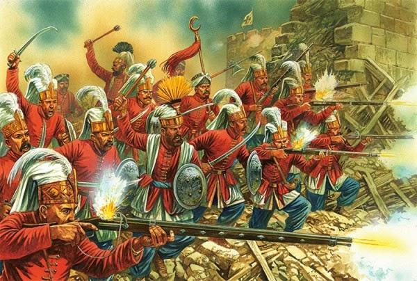 Янычары – чернь ставшая элитой османской империи
